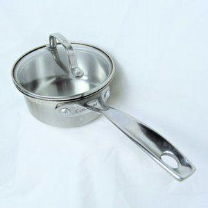 Cuisinart 1 Quart Saucepan & Lid Stainless Steel
